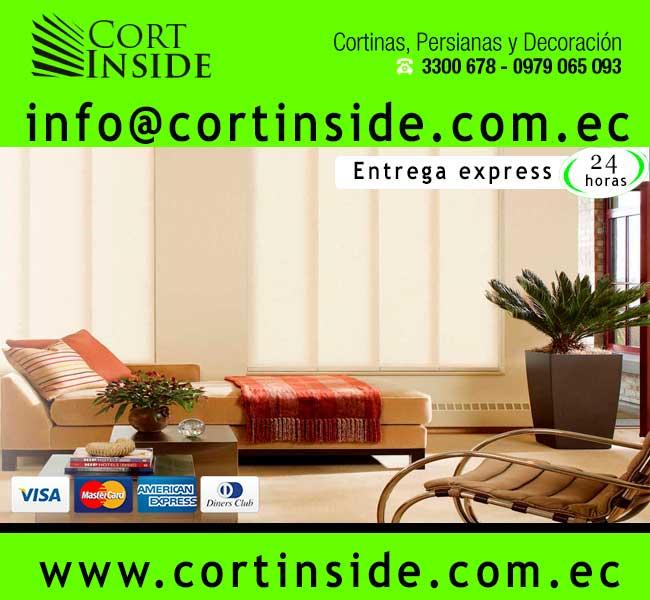 Cortinside cortinas cortinas quito cortinas y persianas for Cortinas para dormitorio quito